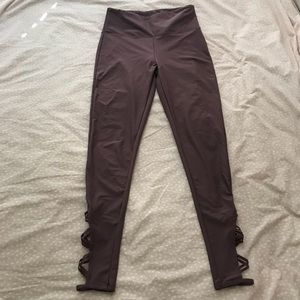 Mauve Legging with Side Detail